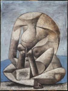 Pablo Picasso : Grande baigneuse au livre, 1937. Musée Picasso Paris