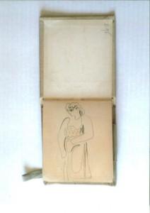 Carnet, mars 1924 @Succession Picasso