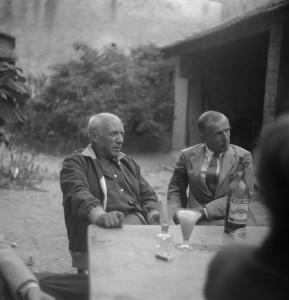 Robert Picault, Picasso et Leiris chez Castel